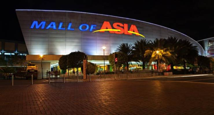 馬尼拉sm city mall of asia